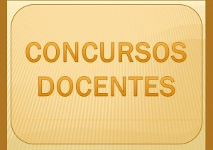 CONCURSOS DOCENTES