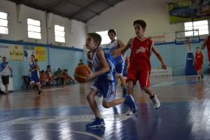 comienza el mini basquet en VFBC2
