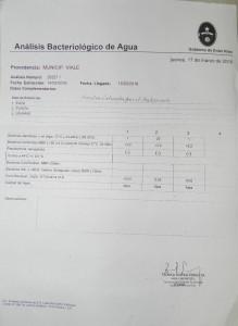 ANALISIS AGUA VIALE 1