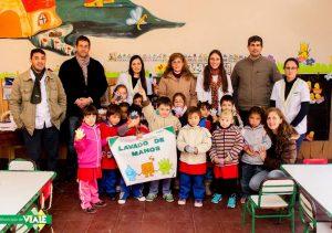 Bromatología comenzó con charlas de prevención en jardines de infantes