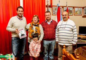 El Intendente recibió la visita de Silvia Fontana quien escribió el libro LILI