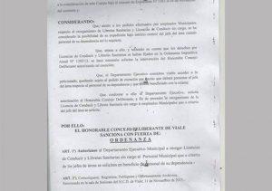 municipio licencia conducir