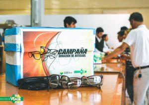 Continúa la Campaña de Donación de anteojos