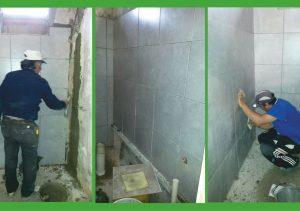 Terminan construcción de baños en Salón Don Bosco