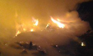 basural incendio