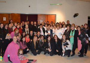 El Coro Municipal presente en La Paz y María Grande