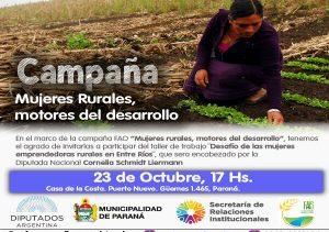 el-desafio-de-las-mujeres-emprendedoras-rurales-en-entre-rios-sera-eje-de-un-taller-en-parana